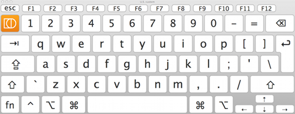Shift The Only Difference From Apple S U S Keyboard Layout